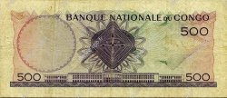 500 Francs CONGO  1961 P.07a TB+