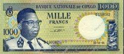 1000 Francs CONGO  1961 P.08a pr.SUP