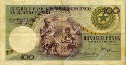 100 Francs CONGO BELGE  1956 P.33a TTB