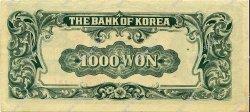 1000 Won CORÉE DU SUD  1950 P.08 SUP+