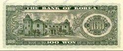 100 Won CORÉE DU SUD  1965 P.38 NEUF