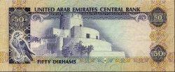 50 Dirhams ÉMIRATS ARABES UNIS  1982 P.09a SUP+