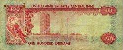 100 Dirhams ÉMIRATS ARABES UNIS  1982 P.10a pr.TB