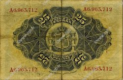 25 Pesetas ESPAGNE  1906 P.057a TB