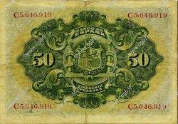 50 Pesetas ESPAGNE  1906 P.058a TB à TTB