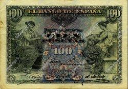 100 Pesetas ESPAGNE  1906 P.059a TB à TTB