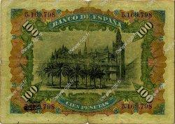 100 Pesetas ESPAGNE  1907 P.064a TB