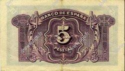 5 Pesetas ESPAGNE  1935 P.085a SUP