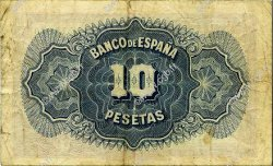 10 Pesetas ESPAGNE  1935 P.086a TTB
