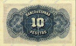 10 Pesetas ESPAGNE  1935 P.086a SUP+