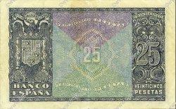 25 Pesetas ESPAGNE  1940 P.116a TTB+