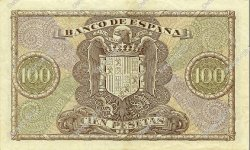 100 Pesetas ESPAGNE  1940 P.118 SUP+
