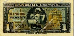 1 Peseta ESPAGNE  1940 P.122a pr.NEUF