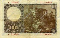 100 Pesetas ESPAGNE  1948 P.137a TTB