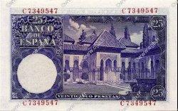 25 Pesetas ESPAGNE  1954 P.147a pr.NEUF