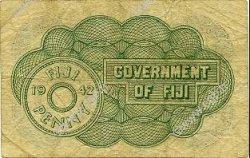 1 Penny FIDJI  1942 P.047a TB