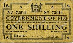1 Shilling FIDJI  1942 P.049a TB