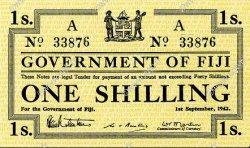 1 Shilling FIDJI  1942 P.049a NEUF