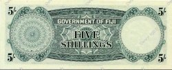 5 Shillings FIDJI  1964 P.051d SPL+