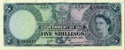 5 Shillings FIDJI  1964 P.051d NEUF