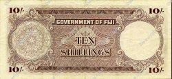 10 Shillings FIDJI  1965 P.052e TTB
