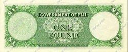 1 Pound FIDJI  1965 P.053g SUP+