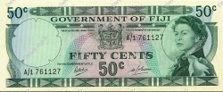 50 Cents FIDJI  1968 P.058a SUP