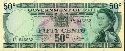 50 Cents FIDJI  1968 P.058a NEUF