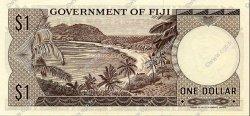 1 Dollar FIDJI  1968 P.059a SPL
