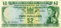 2 Dollars FIDJI  1968 P.060a SUP+
