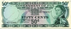 50 Cents FIDJI  1971 P.064a NEUF