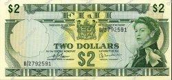 2 Dollars FIDJI  1974 P.072c pr.NEUF