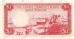 1 Pound GAMBIE  1965 P.02a NEUF