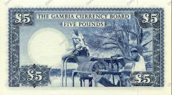 5 Pounds GAMBIE  1965 P.03a pr.NEUF