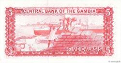 5 Dalasis GAMBIE  1972 P.05c NEUF