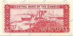 5 Dalasis GAMBIE  1972 P.05d NEUF