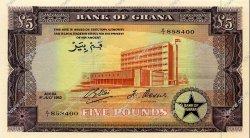 5 Pounds GHANA  1962 P.03d SPL