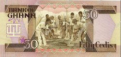 50 Cedis GHANA  1984 P.25 pr.NEUF