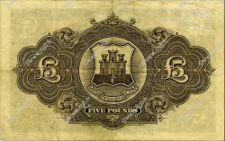 5 Pounds GIBRALTAR  1927 P.13 TTB