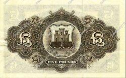 5 Pounds GIBRALTAR  1965 P.19a SUP