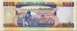 5000 Pesos GUINÉE BISSAU  1990 P.14a NEUF