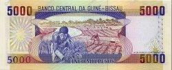 5000 Pesos GUINÉE BISSAU  1993 P.14b NEUF