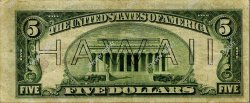 5 Dollars HAWAII  1935 P.38 pr.TTB
