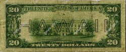 20 Dollars HAWAII  1934 P.41 B