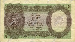 5 Rupees  INDE  1937 P.018a TB+