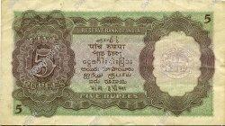 5 Rupees INDE  1937 P.018a TB+