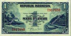 1 Rupiah INDONÉSIE  1951 P.038 SPL+