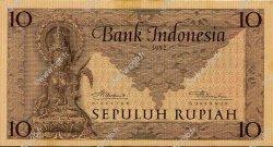10 Rupiah INDONÉSIE  1952 P.043b SUP+