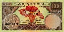 100 Rupiah INDONÉSIE  1959 P.069 SPL