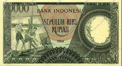 10000 Rupiah INDONÉSIE  1964 P.100 NEUF